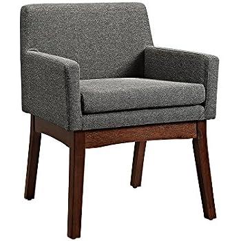 Dorel Living Mid-Century Chair - Gray, Arm Chair