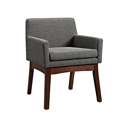 Dorel Living Brook Lane Mid-Century Chair – Gray