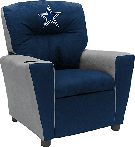 Imperial Officially Licensed NFL Furniture: Youth Fan Favorite Microfiber Recliner, Dallas ()