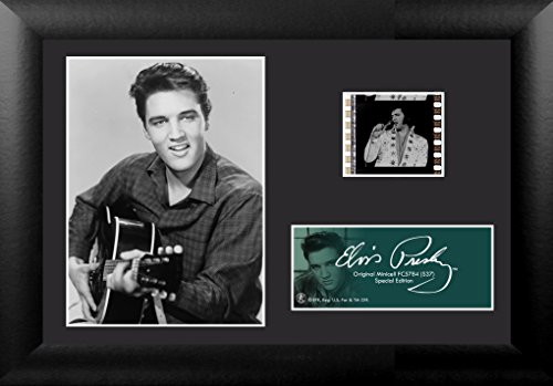 Trend Setters Elvis Presley The King with Guitar Framed Film Cell, Mini
