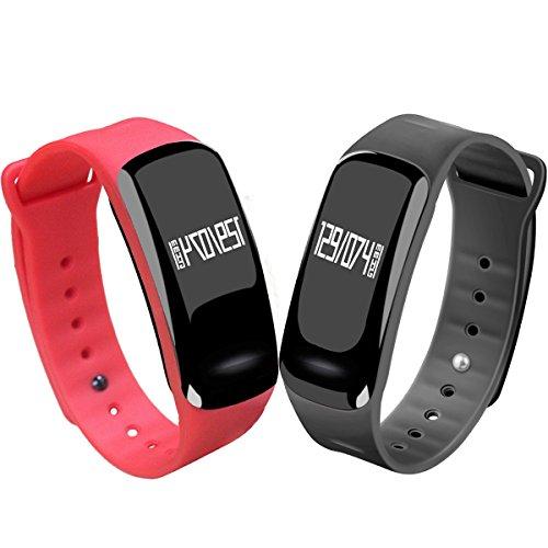 Blood Pressure Bracelet Fitness Tracker - Homestec S4 Sma...