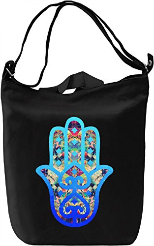 Hamsa Borsa Giornaliera Canvas Canvas Day Bag| 100% Premium Cotton Canvas| DTG Printing|