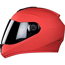 Steelbird Hi-Gn SBH-11ABS Material Shell Dashing Red with Smoke Visor, 580 mm