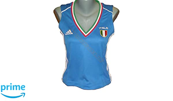 adidas Camiseta Italy/Italia UEFA em2016. Italiana de Fútbol. Mujer. euro2016. Talla 42: Amazon.es: Deportes y aire libre