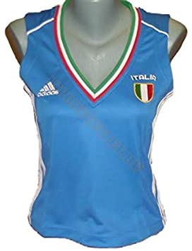 adidas Camiseta Italy/Italia UEFA em2016. Italiana de Fútbol. Mujer. euro2016.