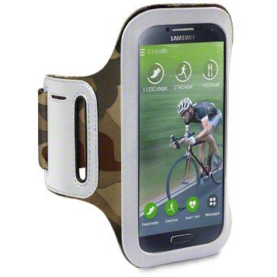 Samsung Galaxy S4 Shocksock Reflective Sports Armband (Camouflage)