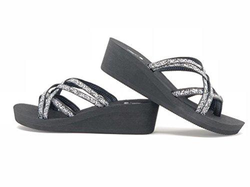 Viakix Wedge Flip Flops for Women – Comfortable, Stylish, Cute, Women's Strappy Sandal for Walking, Beach, Travel by Viakix (Image #6)
