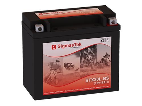 12 Volt 18 Amp Hour Sealed Lead Acid Battery Replacement with NB Terminals by SigmasTek STX20L-BS