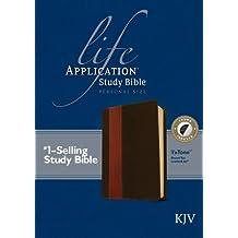 Life Application Study Bible KJV, Personal Size, TuTone