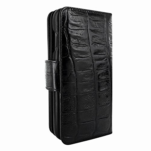 Piel Frama 793 Black Wild Crocodile WalletMagnum Leather Case for Apple iPhone X by Piel Frama (Image #4)