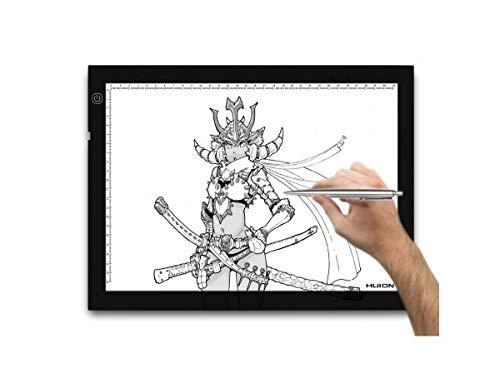 Huion® luminosité réglable tablette lumineuse LED A4 36 x 27cm HU-A4