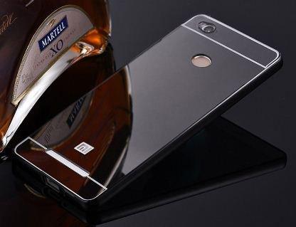 official photos db552 8f9b4 SDO™ Metal Bumper Frame Case with Acrylic Mirror Back Cover Case for Xiaomi  Redmi 3S Prime/Redmi 3S Pro (Black)