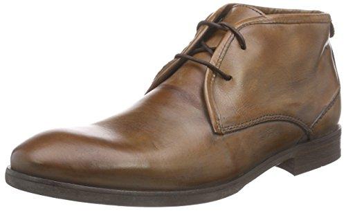 Hudson London Herren Lydon Calf Kalt Gefüttert Kurzschaft Stiefel & Stiefeletten Braun (Tan)