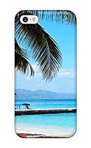 Iphone 5/5s Case Cover - Slim Fit Tpu Protector Shock Absorbent Case (montego Bay)