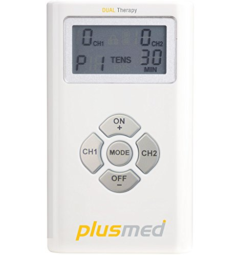 Plusmed TENS + EMS Combination Device Muscle Stimulator for Pain Relief, Relaxation, Increase Local Blood Circulation and (Electrical Neuromuscular Stimulator)