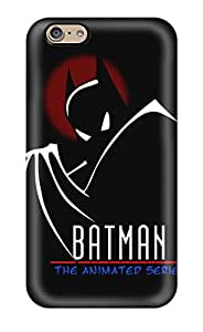 Nueva carcasa rígida para Premium iphone 6carcasa (Batman)
