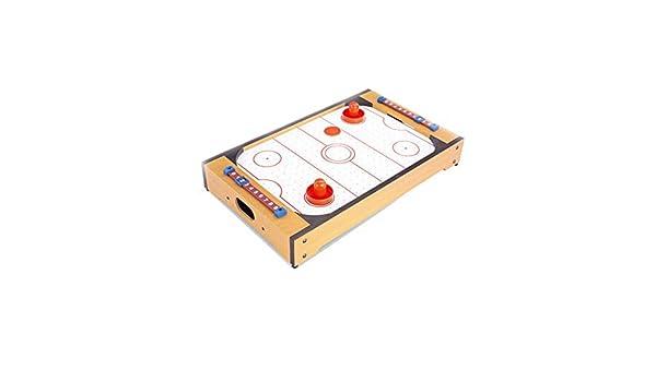 SHMZQ Juego de Mesa de Hockey de Aire, Juego de Hockey, con ...