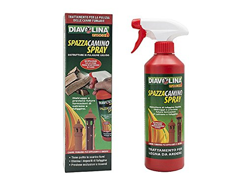 Facco Giuseppe & C 15035 Diavolina Spazzacamino Spray, Rosso, 450 ml