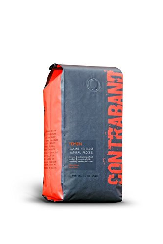 Contraband Coffee Yemen Mocca Sanani Heirloom Natural (1lb) Contraband Coffee Roasters