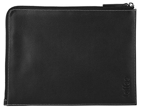 Toffee Toffee-iPad Mini 3/4 Leather Sleeve Case-Black Leather Corner Sleeve-iPad Mini 3/4 TCS-IPM-B