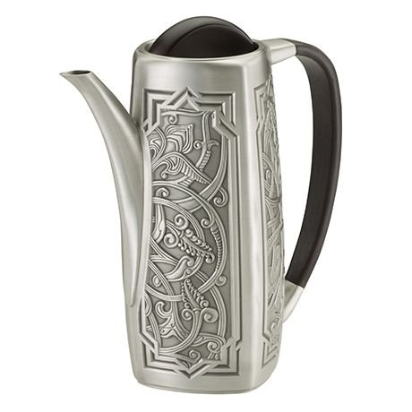 - Royal Selangor Hand Finished Atiya Collection Pewter Coffee Pot