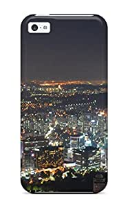 Iphone Cover Case - Seoul City Protective Case Compatibel With Iphone 5c