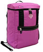 J World New York Rectan Laptop Backpack, Orchid, One Size