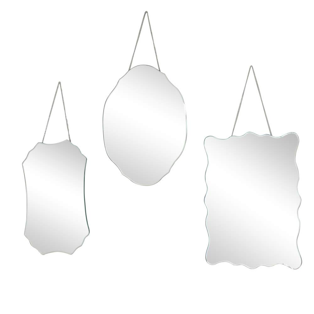 Melody Maison Set of 3 Wall Mirrors