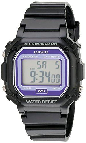Casio Kids F-108WHC-1BCF Classic Digital Watch With Black Re