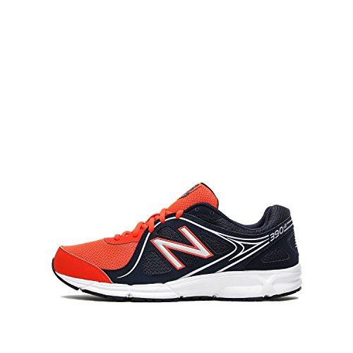 New Balance Herren NBM390BO2 Sneakers, Rojo/Azul Oscuro, 44 EU