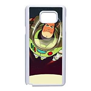 Buzz Lightyear Funda Samsung Galaxy Note 5 Funda Caja del teléfono celular blanco Y6F7OF