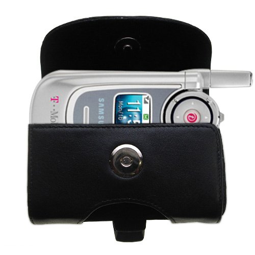 Black+Leather+Case+for+Samsung+SGH-P735