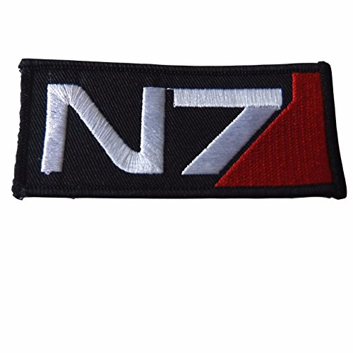 Mass Effect N7 Iron On Patch