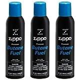 Zippo Butane 5.82 oz. 3-Pack