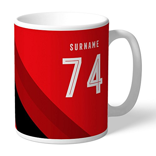 AFC Bournemouth Official Personalized Stripe Mug - FREE ()