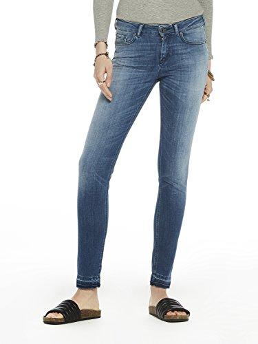 Scotch Jeans Donna new Blu Slim Fade Fade new 1993 Soda La Bohemienne amp; rCq6gwr