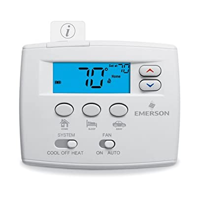 White-Rodgers 1F86EZ-0251 Non Programmable Easy Set Digital Thermostat,