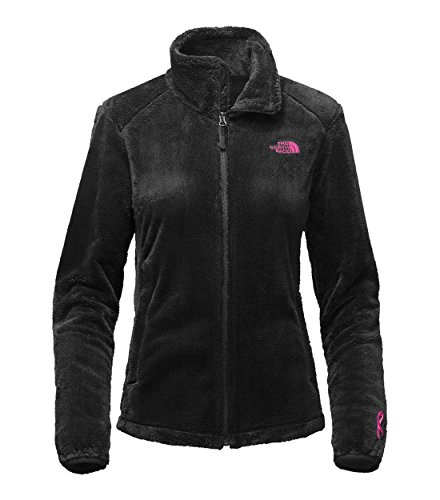 The North Face Women's Pink Ribbon Osito 2 Jacket TNF Black SM