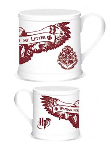 Harry Potter Mug Vintage Waiting for my Letter Half Moon Calici Tazze