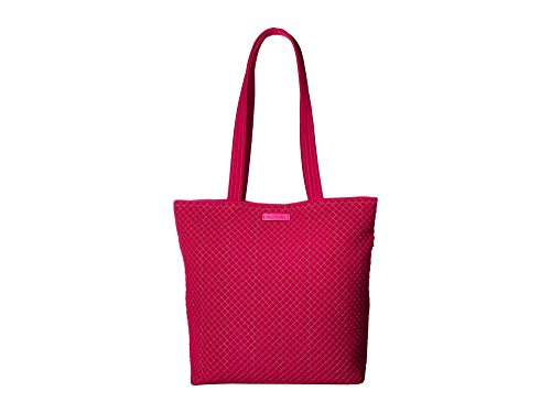 (Vera Bradley Women's Iconic Tote Bag Passion Pink One Size)
