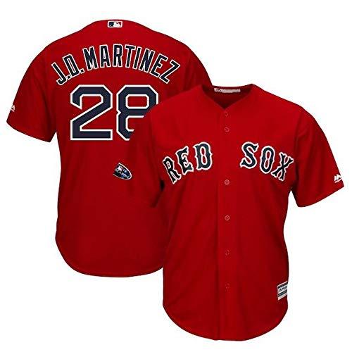 Majestic Majestic Postseason J.D. Martinez【並行輸入品】 Boston J.D. Red Sox Scarlet 2018 Postseason Alternate Cool Base Player Jersey スポーツ用品【並行輸入品】 S B07HWPWQ7D, スパイシー リネン服デニムの通販:20f963e4 --- cgt-tbc.fr