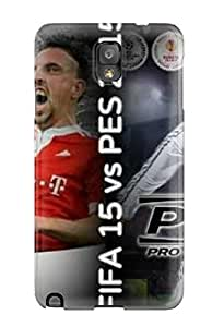 For Galaxy Note 3 Protector Case Fifa Vs Pes Phone Cover