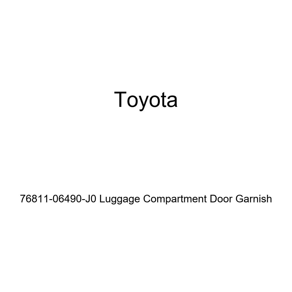 Toyota 76811-06490-J0 Luggage Compartment Door Garnish
