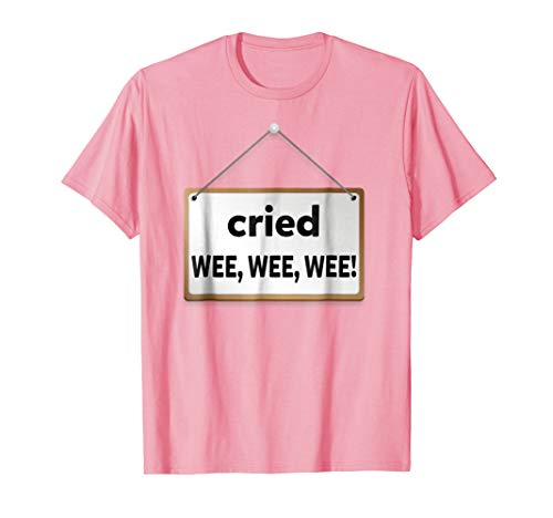 Group Matching Little Piggy Cried Wee Wee Wee Shirt for $<!--$19.97-->