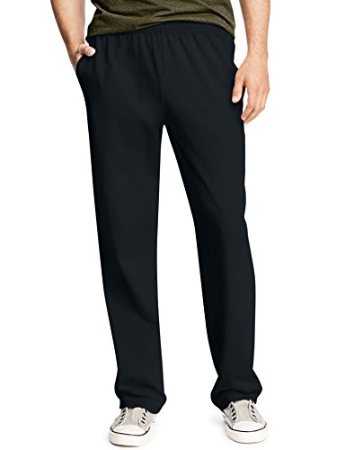 - Hanes Men's Jersey Pant, Black, 3X Large