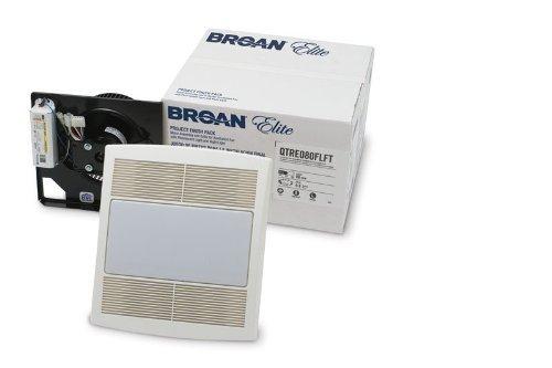 Broan QTRE110FLFT Energy Star Fan & Light Finish Pack - 110 CFM