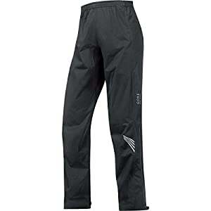 GORE BIKE WEAR Men's Long Cycling Rain Overpants, GORE-TEX Active, ELEMENT GT AS Pants, Size M, Black, PGMELE