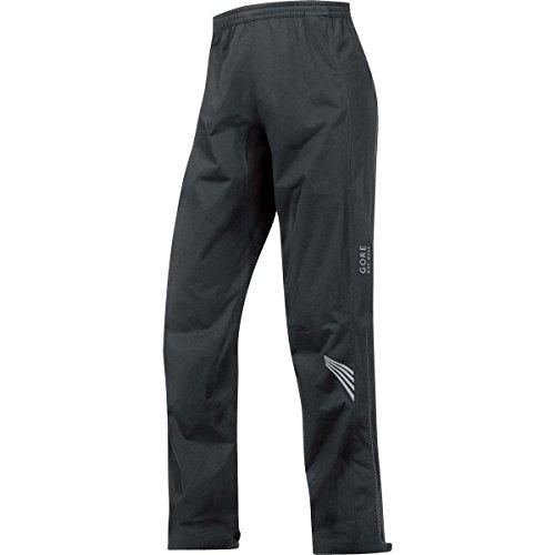 GORE BIKE WEAR Men's Long Cycling Rain Overpants, GORE-TEX Active,  GT AS Pants, Size L, Black, PGMELE