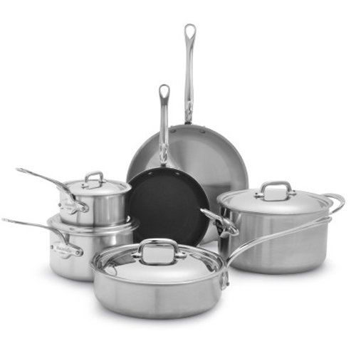 Mauviel M'collection de Cuisine 10-Piece Set 3700.10