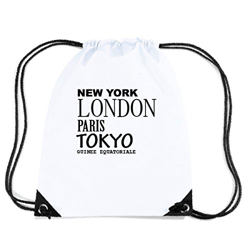JOllify GUINEE EQUATORIALE Turnbeutel Tasche GYM4565 Design: New York, London, Paris, Tokyo